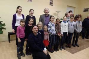Sebő Ferenc előadása a zeneiskolában