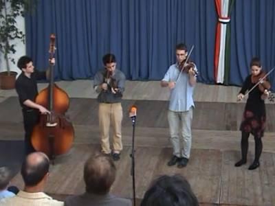 Népzenei koncert Danhauser Zoltán és növendékei 2013